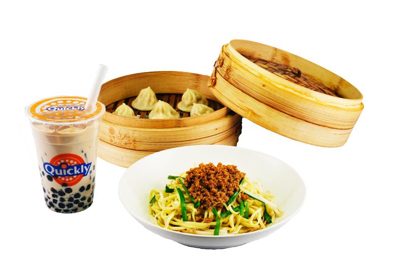 ドリンク+台湾まぜ麺+台湾タンパオ
