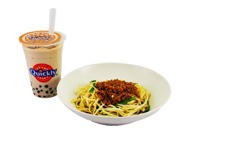 ドリンク+台湾まぜ麺